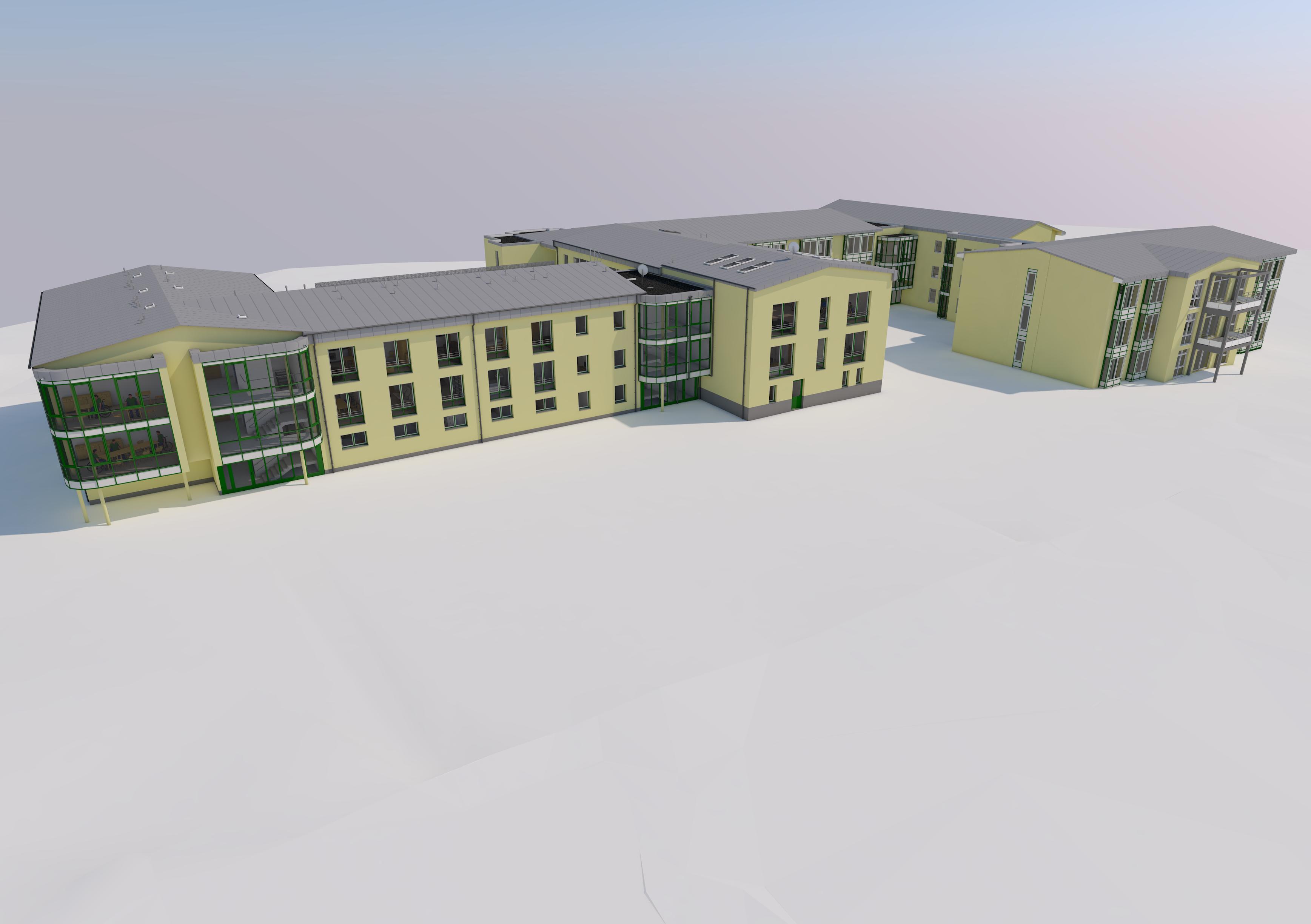 Umbau und Anbau Alten- und Pflegeheim Storkow Karlslust